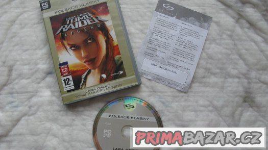 PC hra Lara Croft:Tomb Raider Legend