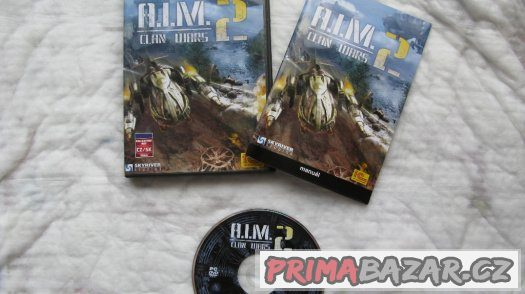 PC hra A.I.M. 2 Clan Wars-kompletní balení