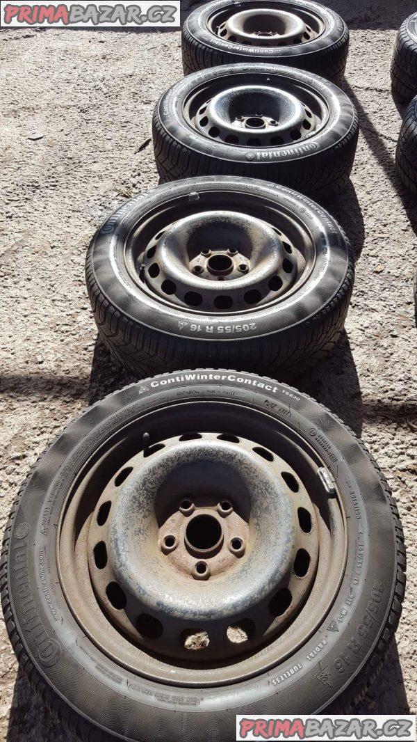 4xplechové disky plechy Volkswagen ,audi 5x112
