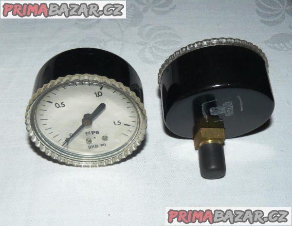 MANOMETR 0 - 1,6 MPa ( 0 - 16 bar ) NOVÝ přesnost 2,5