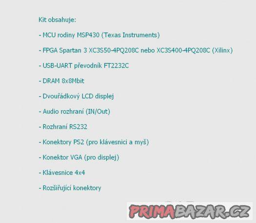 FITkit - hardwarový nástroj pro mladé vývojáře