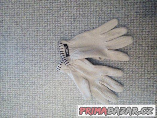 Béžové rukavice - nenošené - cena podle Vás