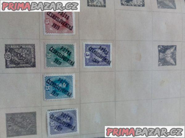 Prodam poštovní znamky