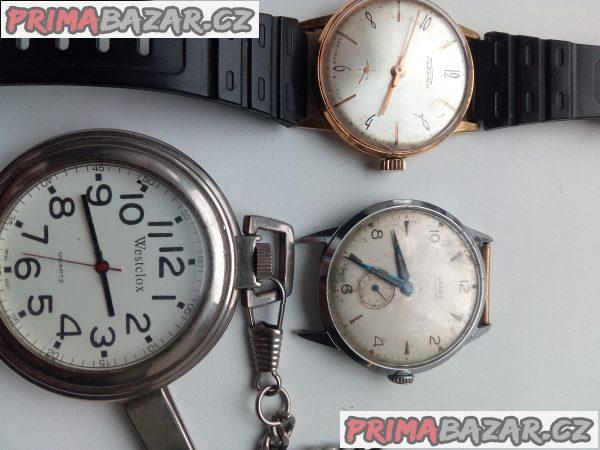 Staré hodinky k prodeji