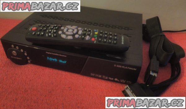Satelitní digitální přijímač ShowBox S-300 Platinum.