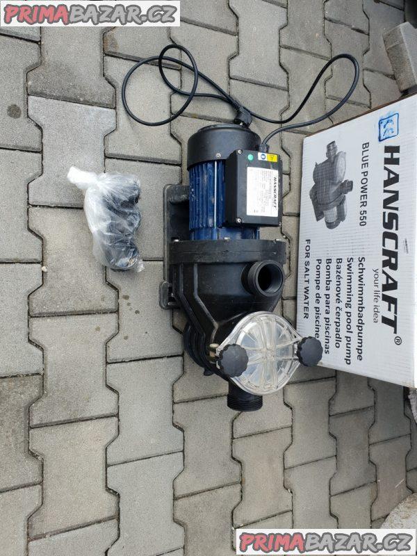 Bazénové čerpadlo Hanscraft Blue Power 550, 13 m3/h
