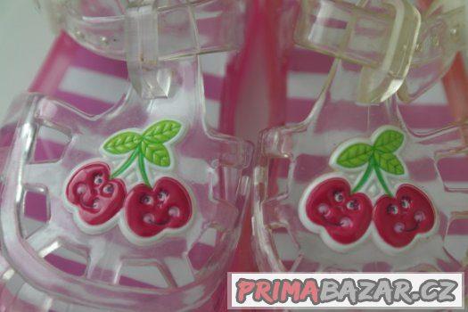 třešničkové plážové (boty do vody) botičky - 11 cm