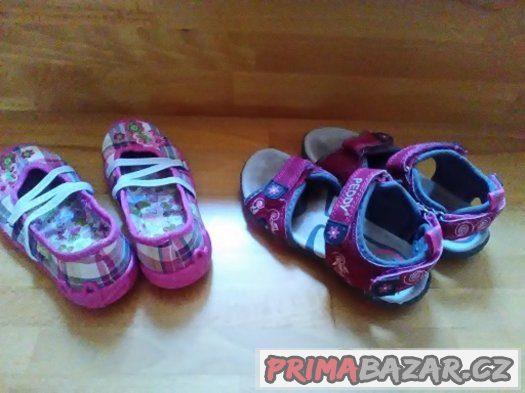 Holčičí sandálky velikost 28