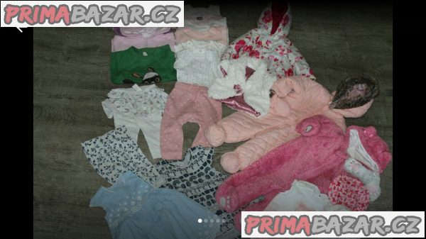 mega balík oblečení Mimi holčička přes 90kusu