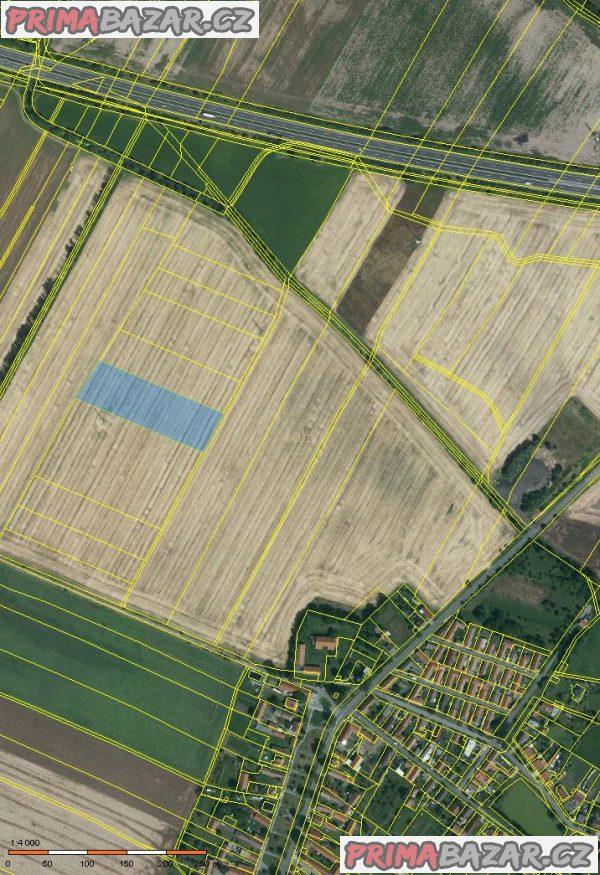 Prodej orné půdsy Vrbová Lhota, Nymburk