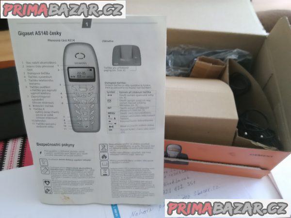 Prodám telefon GIGASET AS140