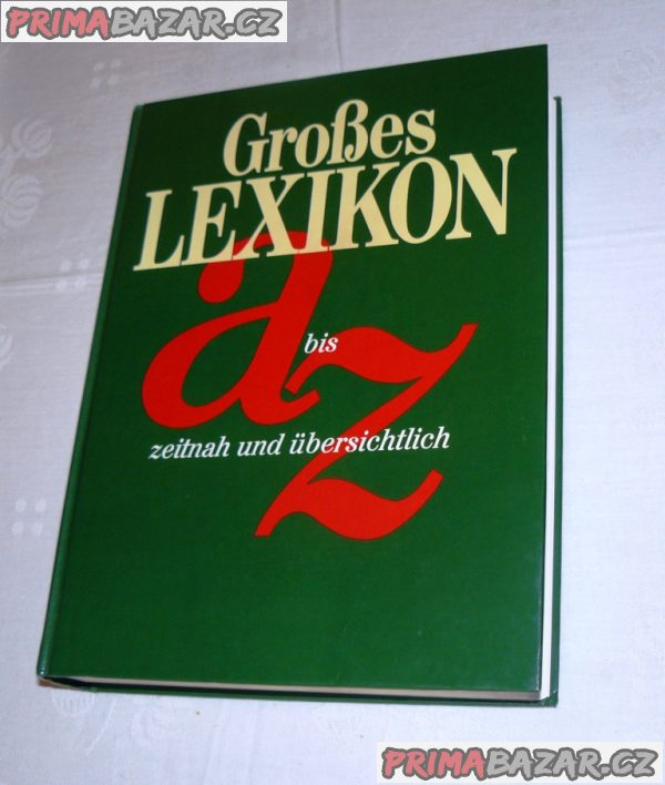 Großes Lexikon A bis Z (němčina)  r.1995 - 100%