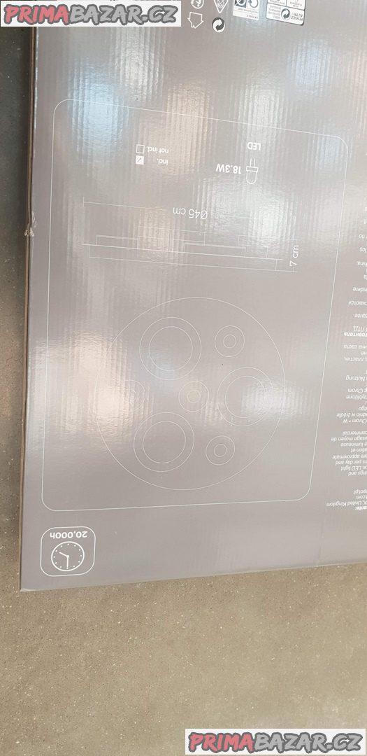 nové ,nepoužité Led lustr moderní 18.3w velikost 45