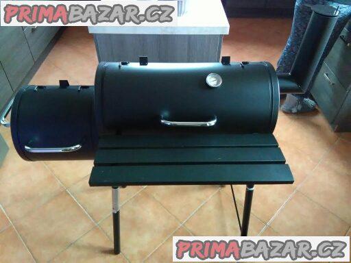 Rezervováno - Zahradní gril, max 5x použitý