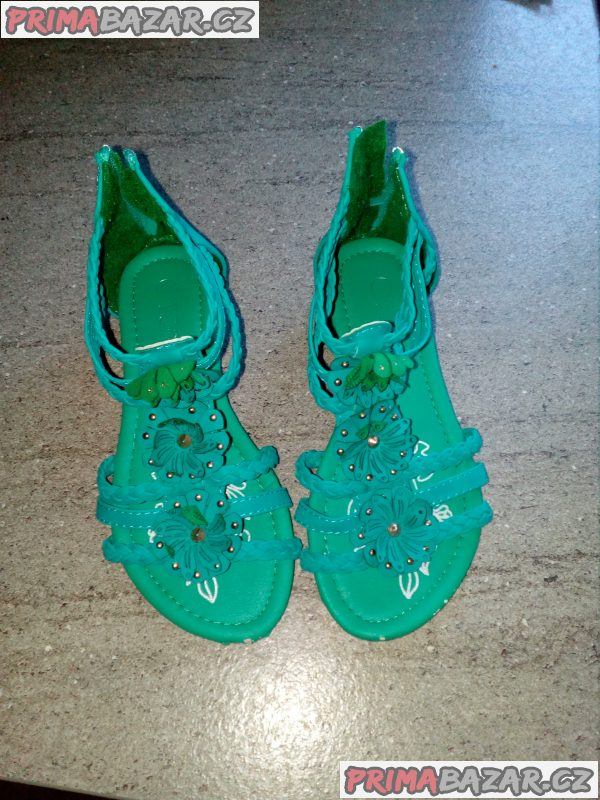 Dívčí sandále