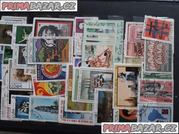 Prodám celé album znamek Cuba,Praha,atd