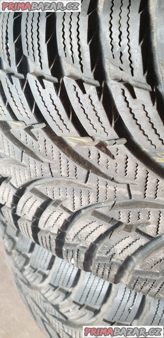 zánovní 4x pneu nokian wr d3 zesilene 95% vzorek