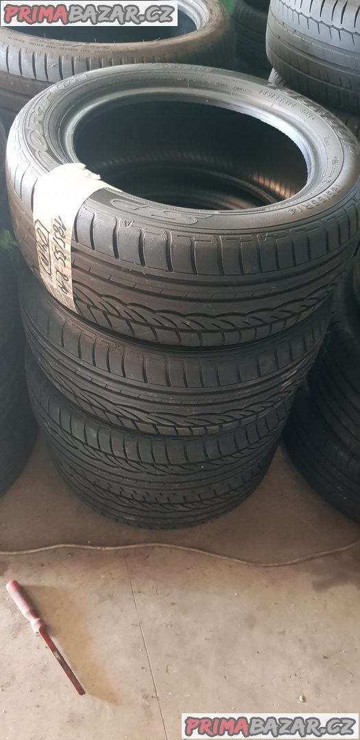 prodám 4xpneu Dunlop sp sport 01 95% vzorek 185/55 r14 80h