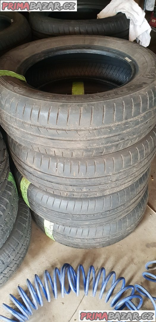 prodám 4xpneu Dunlop street response 2 2x70 a 2x60% vzorek 195/65 r15