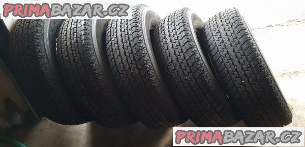 5x zánovní pneu 90% vzorek Bridgestone dueler h/t 4xpne