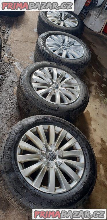 alu kola elektrony 3d0 VW Audi 5x112 7.5jx17 et40