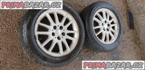 2x alu kola s pneu chrysler 5x114.3 7jx17