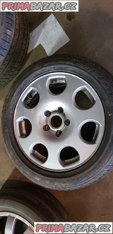 3x alu kolo audi 2x r16 1x nové pneu 205/55 r16