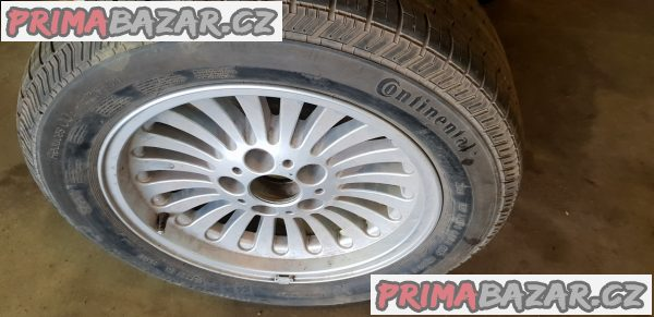 1xalu kolo BMW 1092209 s pneu Continental cp 5x120 7jx16 is20