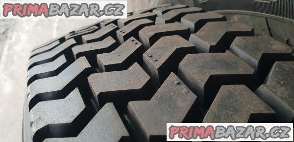 3kusy nové pneu německé výroby Kraiburg 195/75 r16c 107/105r protektor