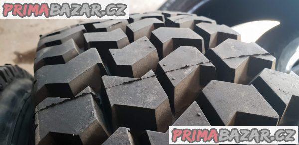 2x nové pneu německé kraiburg 205/75 r16c protektor