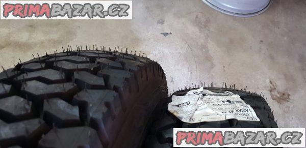 2x pneu nové Sava tamar 7.00 R16 m+s