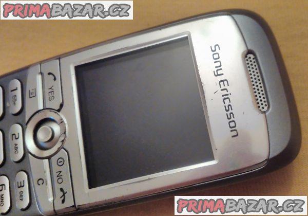 Sony Ericsson J210i - vzhled jako nový - ale k opravě nebo na náhradní díly!
