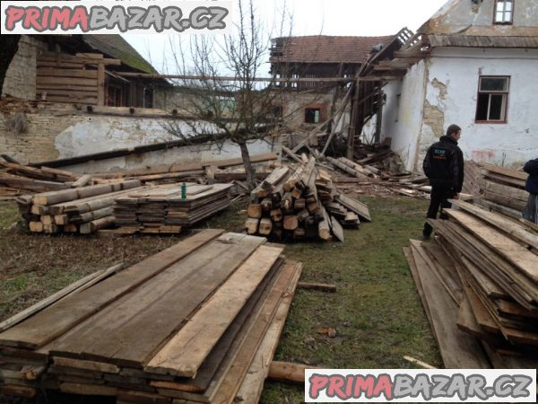 provedeme zdarma demolici staré stodoly domu