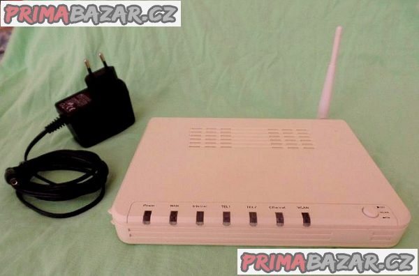 Router  + WIFI + telefonní brána EG 10L.