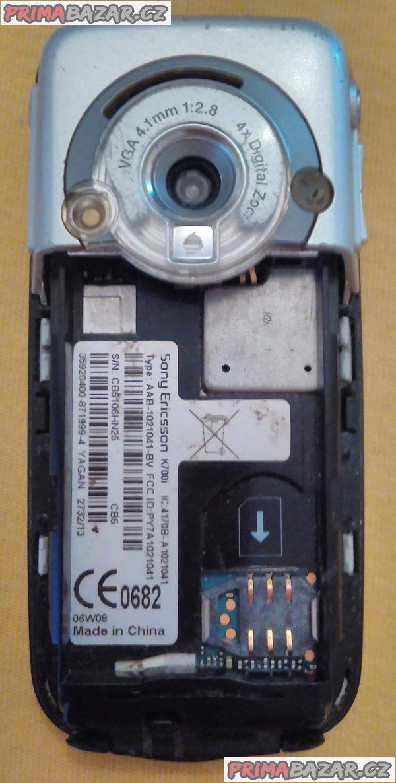 Sony Ericsson K700i - na náhr. díly nebo k opravě!!!