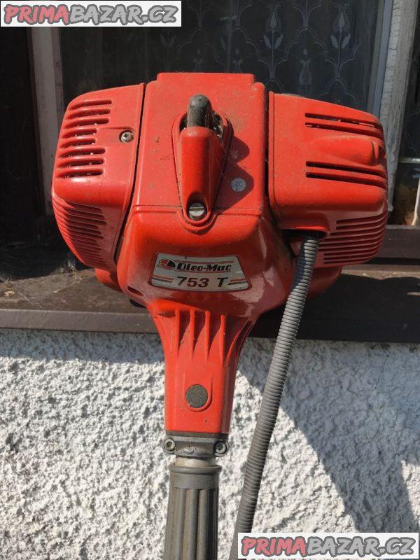 benzínový křovinořez oleomac 753 T