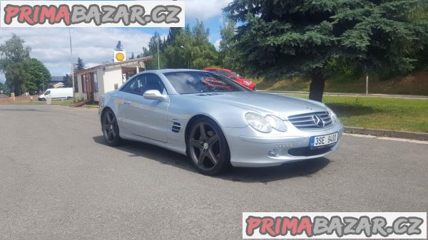 Mercedes AMG SL 500 225kw, palivo benzin