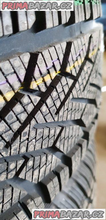 nové nepoužité plechové disky s novou pneu  c.d.9532 5x114.3 6jx16
