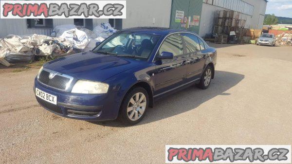 Škoda superb 2.5tdi 114kw r.v 2003 najeto 230tis