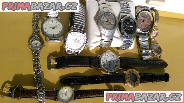 Prodám 11x hodinky pro sběratele.