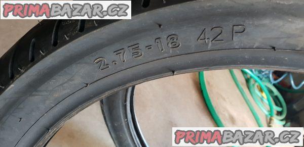 nové nepoužité pneu na motorku Sava Mc 7 r18 3.00-18 52r