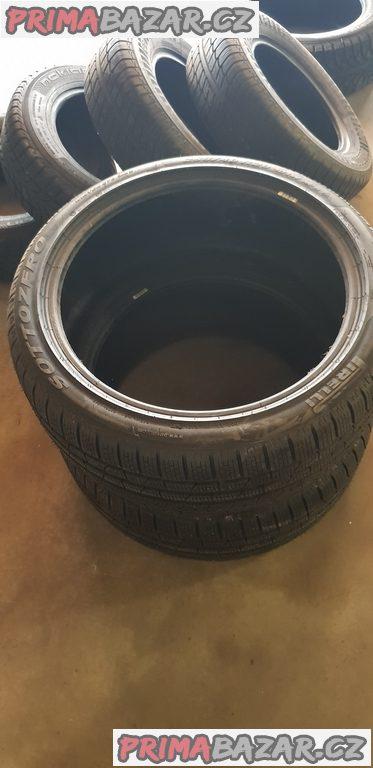2xnove nepoužité pneu pirelli sottozero 255/40 r20 101w