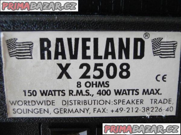 Sloupové reprobedny Raveland X 2508