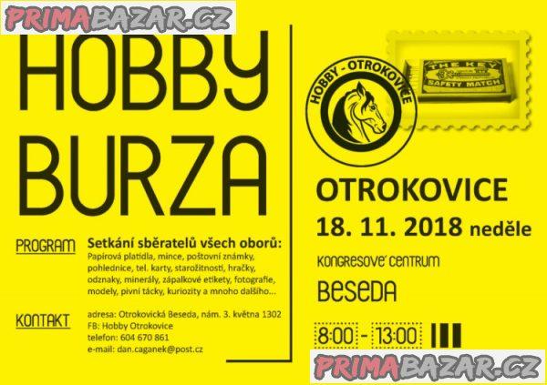 Hobby burza , OTROKOVICE, neděle 18.11.