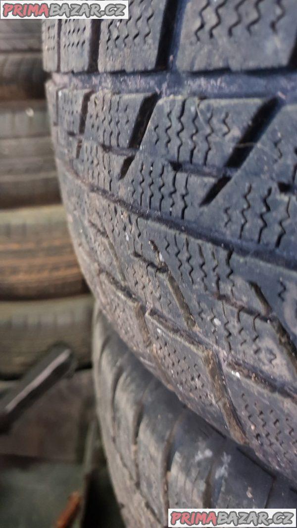 plechove disky s pneu barum 5x100 1J0601 6jx15 et38