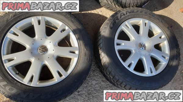 alu kola elektrony Volkswagen 7l6601s pneu dunlop 255/55 r18 109v 5x130 8jx18 et57