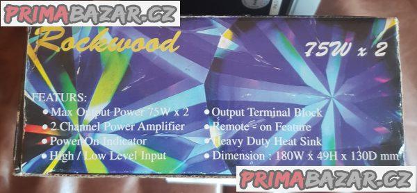 High Power Car Amplifier ROCKWOOD
