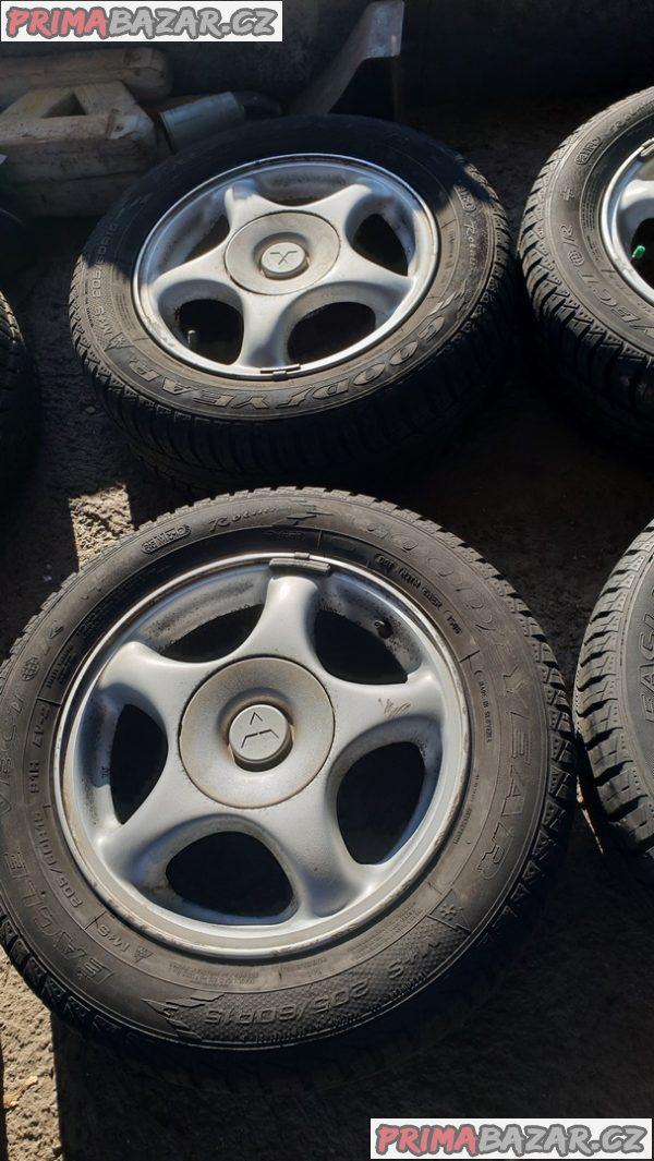 alu kola elektrony mitsubishi s pneu goodyear 4x114.3 6jx15 et46