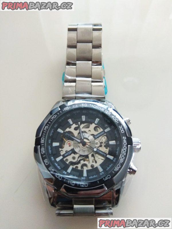 Nové luxusní samonatahovací skeleton hodinky