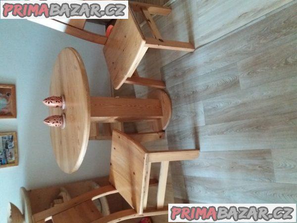 prodam stul+2 židle